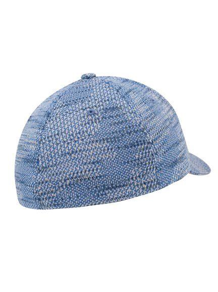 knit baseball cap flexfit jacquard knit modell 6277jk baseball cap in blue