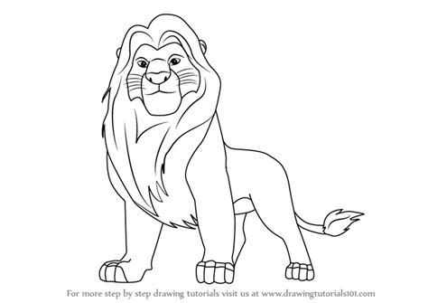 Mufasa Drawing