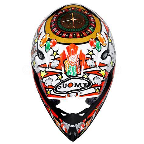 suomy motocross helmets suomy mr jump helmet jackpot white dirtbikexpress