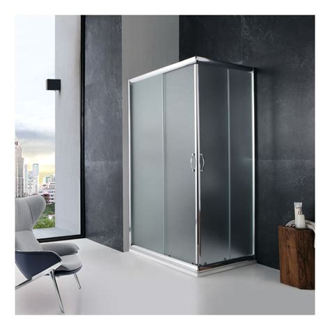 duschabtrennung milchglas dusche duschabtrennung 70x100 cm giada rechteckig milchglas