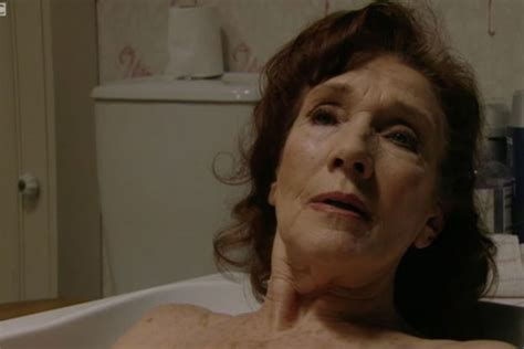electrocution in bathtub eastenders sylvie carter dies after being electrocuted in the bath ok magazine