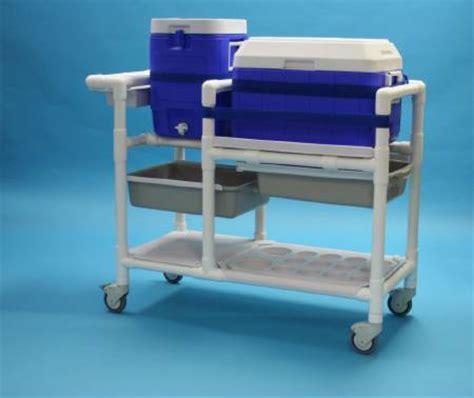 1 gallon hydration pack201020203030203030101010100 571 hydration cart pvc 45 l x 20 w x 36 h inch 4 shelves
