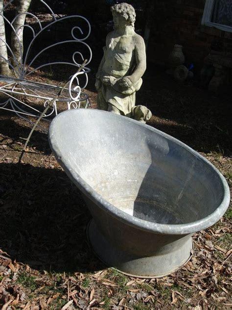 zinc bathtub for sale 63 best images about early zinc baths on pinterest