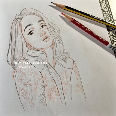doodle draw weheartit laia by juditmallolart on deviantart