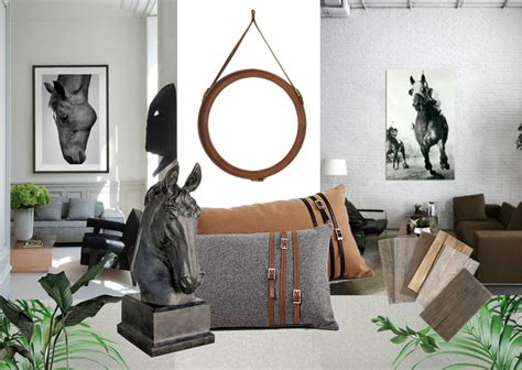 equestrian chic interiors sampleboard blog
