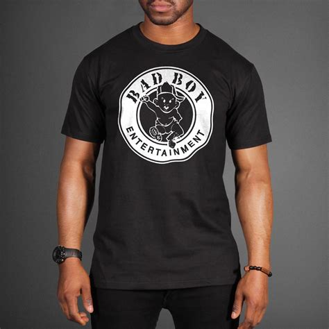 T Shirt Badboy puff bad boy records logo t shirt wehustle