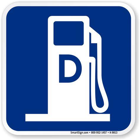 Diesel Fuel For diesel fuel no signs mysafetysign