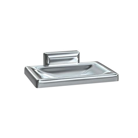 Asi Heavy Duty Triple Chromed Zamak Soap Dish Asi Bathroom Accessories