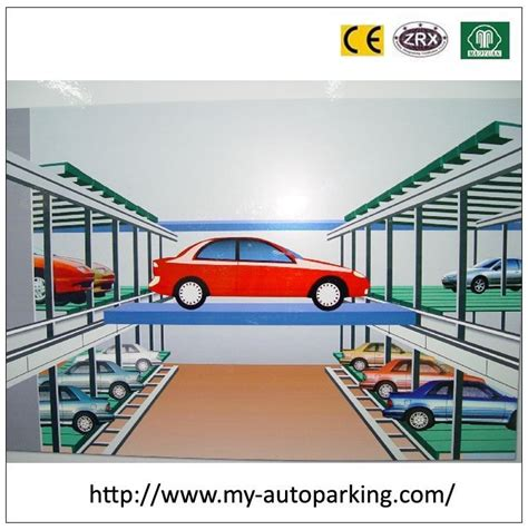 Underground Parking Garage Design plc computer control car parking system underground