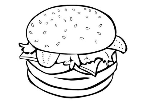preschool food coloring pages az coloring pages