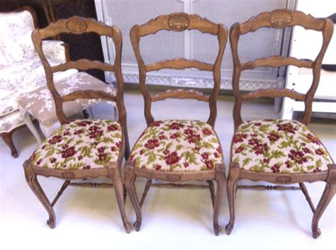 Country Style Upholstered Furniture by Id3262 Set Of 6 Provencal Style Chairs