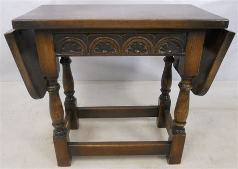 Small Antique Coffee Table Antique Jacobean Style Small Dropleaf Oak Coffee Table