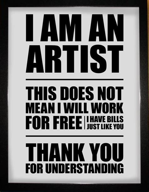design is not free i am an artist this does not mean i will work for free