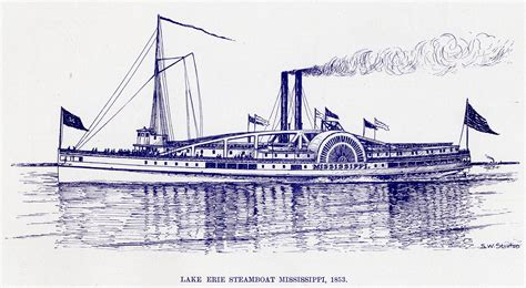 steamboats and sailors of the great lakes great lakes books series books view lake erie steamboat mississippi 1853 maritime