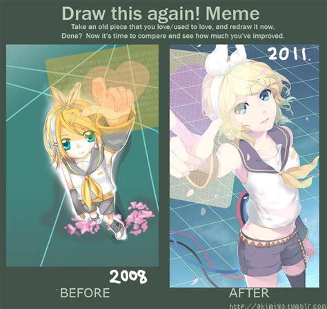 Draw It Again Meme - draw this again meme 2 by akimiya on deviantart