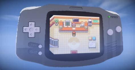game boy mod minecraft マインクラフト でgba版 ポケモン を丸ごと再構築 まさかのmod不使用 インサイド