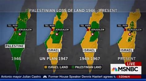 Palestine Kalendar 2018 Msnbc Martin Fletcher Disavow Image Of Palestine Being