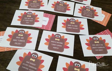 printable thanksgiving trivia cards craftaholics anonymous 174 thanksgiving table craft turkey