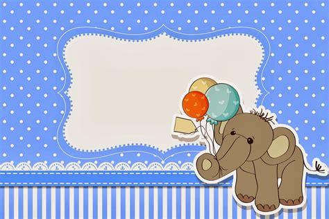 tarjetas de invitacion para imprimir baby shower gratis elefante para baby shower tarjetas e invitaciones para