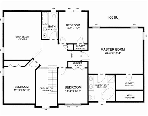 create house floor plans free create your own floor plan fresh garage draw own house