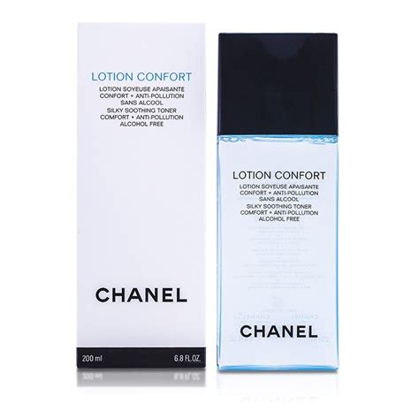 Silky Toner chanel lotion confort silky soothing toner fresh