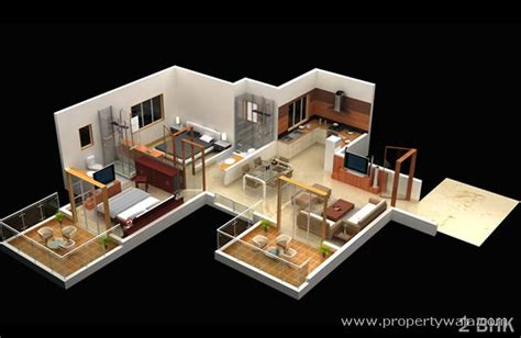 house design for 2bhk mont vert seville wakad pune apartment flat project
