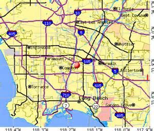 paramount california ca 90723 profile population maps