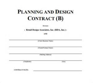 design contract template interior design contract template 7 free