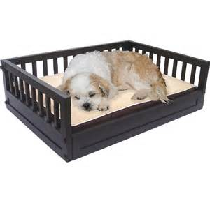 Dog Bed Elevated Elevated Pet Bed Espresso In Pet Beds