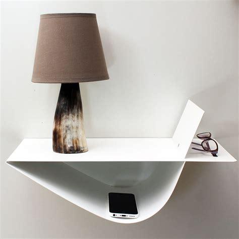 table de nuit suspendue chevet suspendu design blanc chevet mural table de nuit