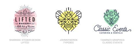 logo color trends 2017 2017 logo design trends inspiration cloverdesain
