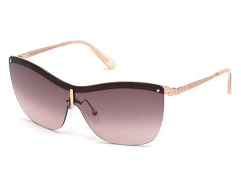 guess gu 7471 28y shiny gold purple sunglasses