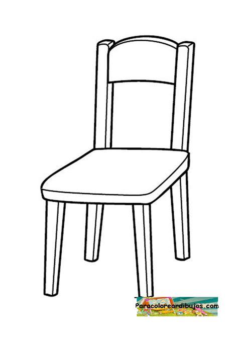 silla dibujo silla dibujo colorear imagui