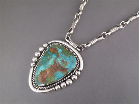 Turquoise Pendant Necklace albert royston turquoise pendant necklace turquoise
