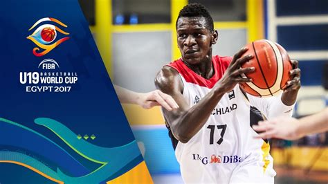 isaac bonga mixtape fiba u19 basketball world cup 2017