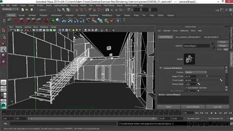 microspot 3d rendering software rendering a depth pass in maya software