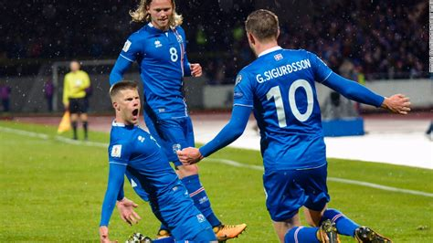 iceland world cup world cup 2018 iceland become smallest nation to reach