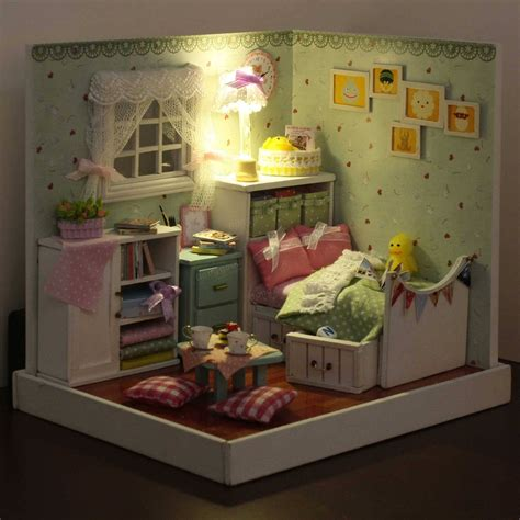 wizard of oz doll house cuteroom diy wooden dollhouse the wizard of oz handmade decorations model with led