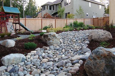 rock garden design and construction top 40 ideas about river beds on gardens