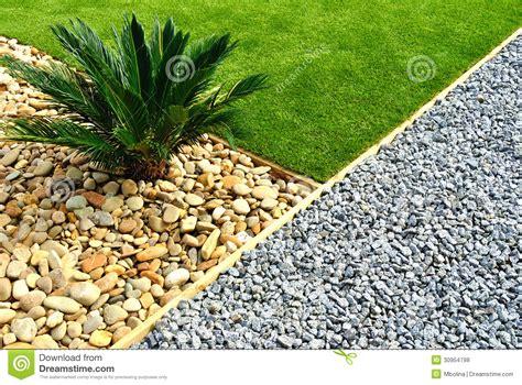 Landscaped Front Yard - front yard landscape design royalty free stock photos image 30954798