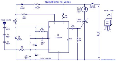 touch light diagram touch free engine image for