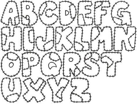 imagenes de letras bonitas para dibujar tipos de letras para colorear az dibujos para colorear