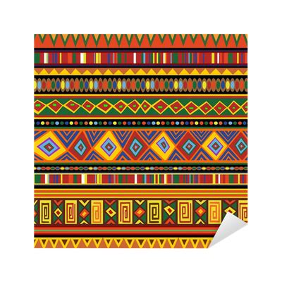 ethnic pattern png adesivo ethnic colorful pattern africa art etnico colori