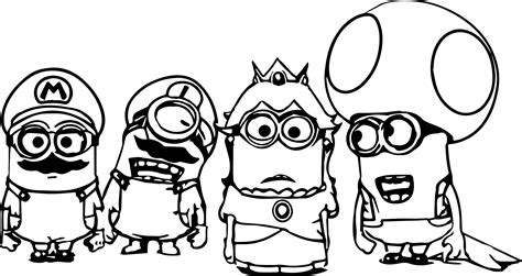Best Coloring Pages To Print by Minion Coloring Pages Best Coloring Pages For