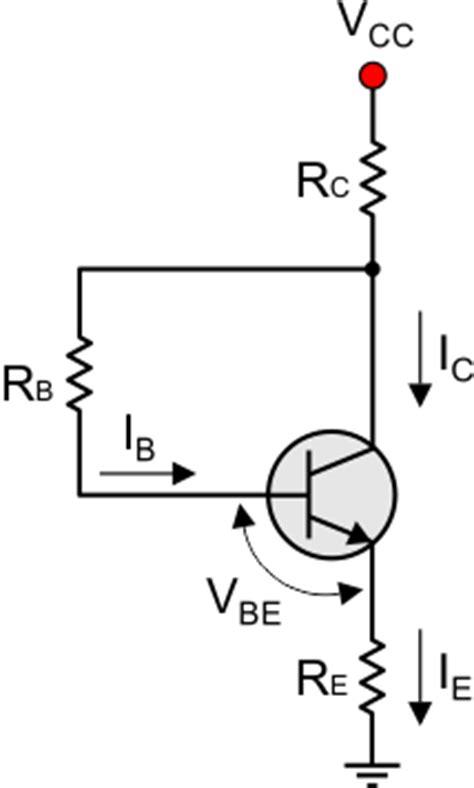 base bias with emitter resistor bjt transistor theory