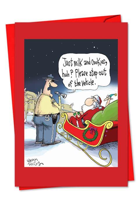 santa dui funny christmas cards nobleworks cards