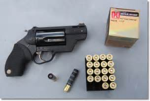 Hornady s new 410 revolver ammo is called triple defense we found