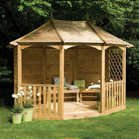 gazebo wooden 11 9 quot x 9 3 quot ft 3 6 x 2 8m wooden gazebo pavilion with
