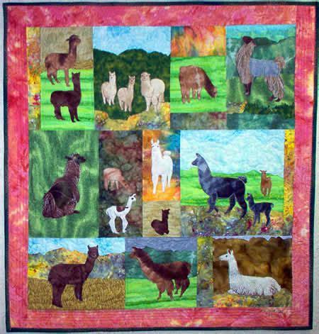 Alpaca Quilts by Llamas Alpacas Pattern