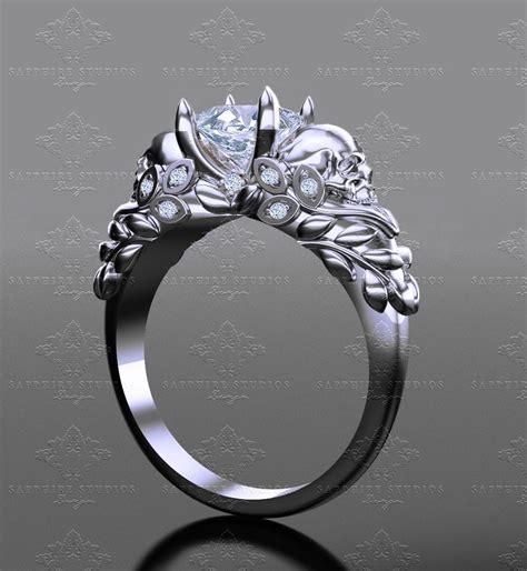 sapphire studios venice 1 30ct princess cut white gold